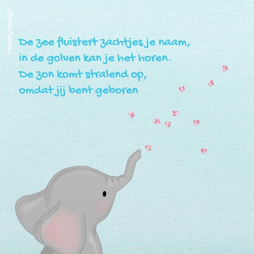 Geboorte Olifantje Waterlelie 2