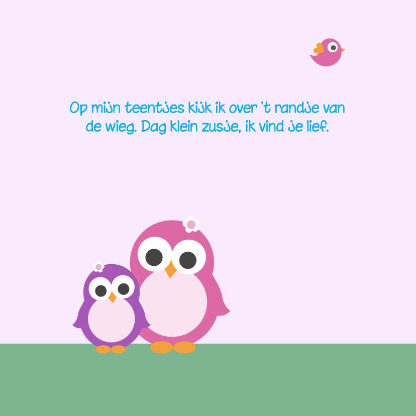 Geboorte - Pinguin zusjes 2