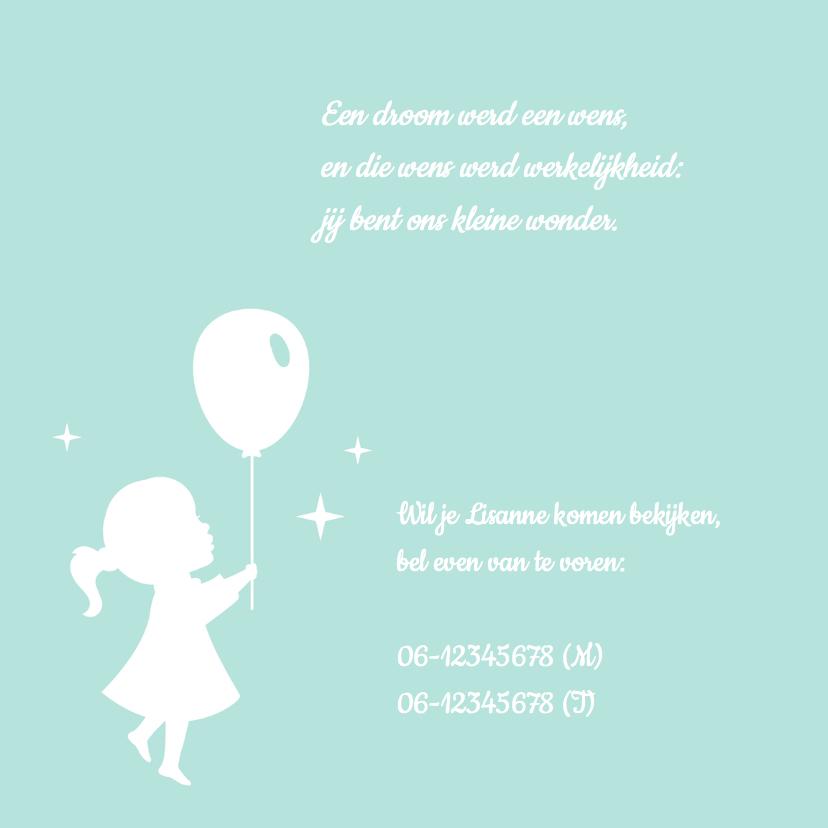 Geboorte Retro Silhouet Naam 2