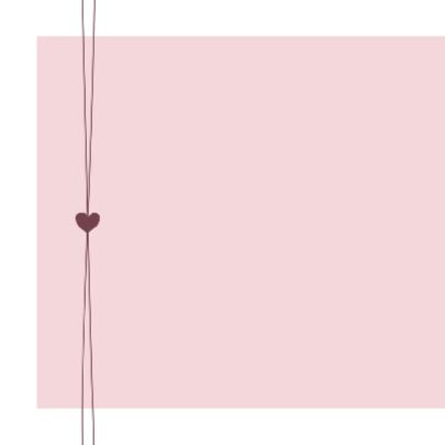 Geboorte - roze met hartjes 2