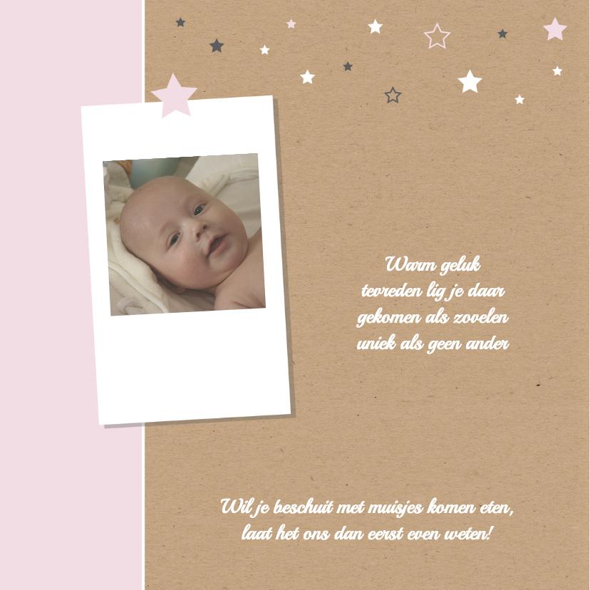 Geboorte- Sterren, foto, dochter 2