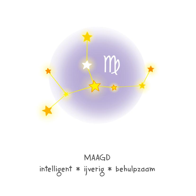Geboorte sterrenbeeld Maagd lief 2