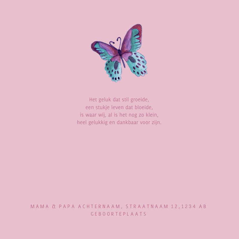 Geboorte Vlinder Hartje  2