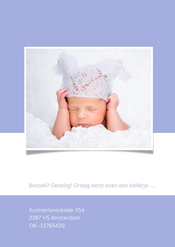 Geboortecollage flexibele achtergrond - OT 2