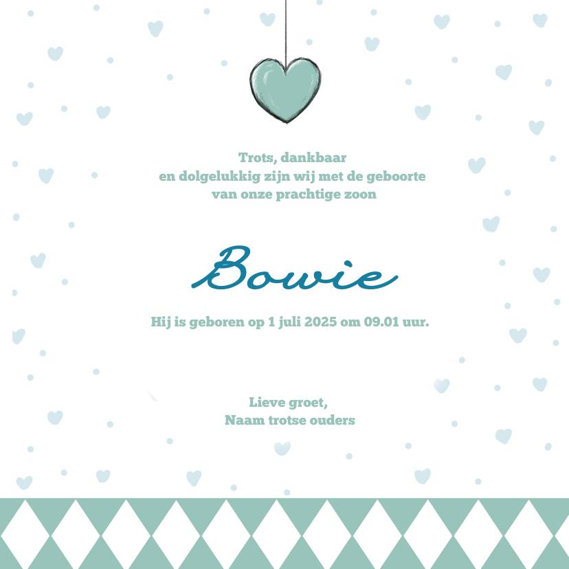 Geboortekaart beertje Bowie IH   3
