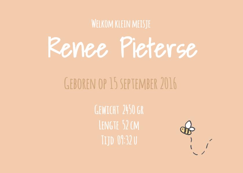 Geboortekaart Beestjes Renee LFZ 3