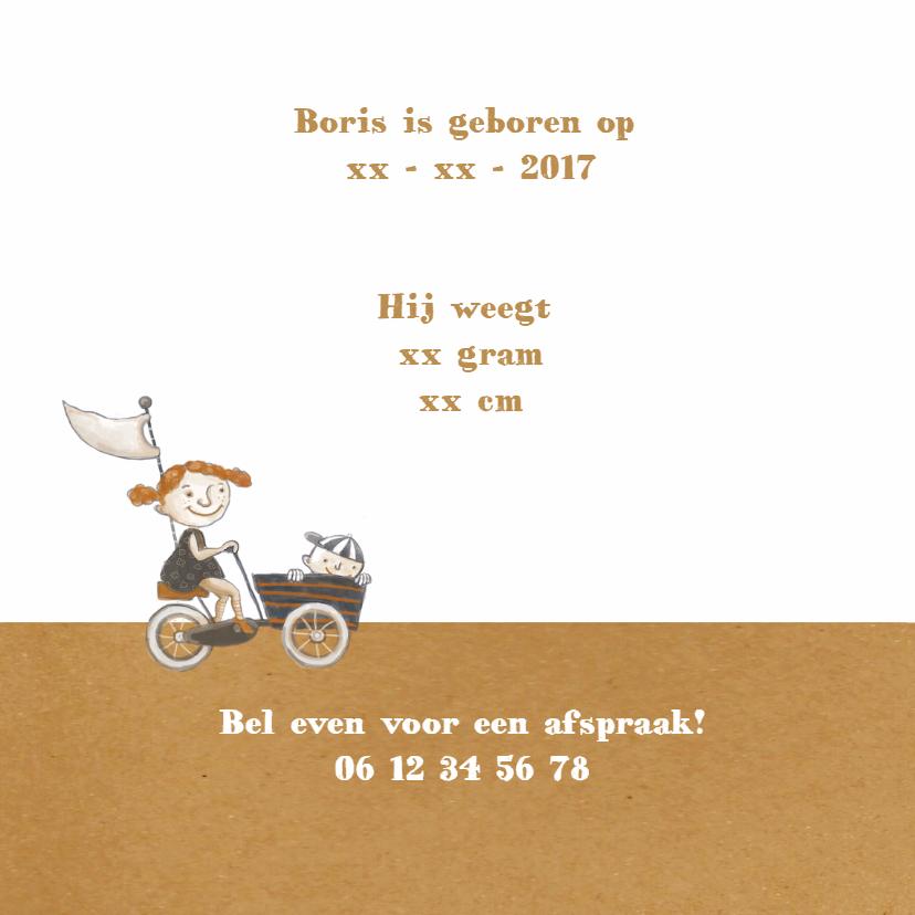 Geboortekaart - Broer Boris - MW 2