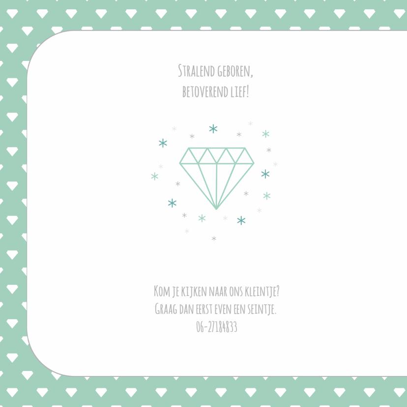 geboortekaart Erin Diamant 2