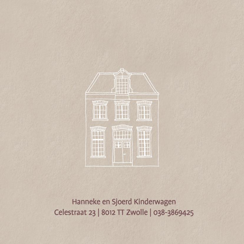 Geboortekaart Hollands Huis  2