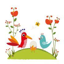 Geboortekaartjes - Geboortekaart onder eierschaal