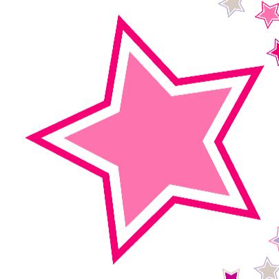 Geboortekaart Roze en paarse sterren 3
