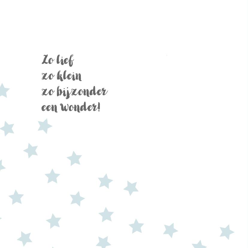 Geboortekaart sterren kraft - BC 2