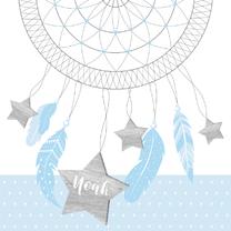 Geboortekaartjes - Geboortekaartje boy dromenvanger