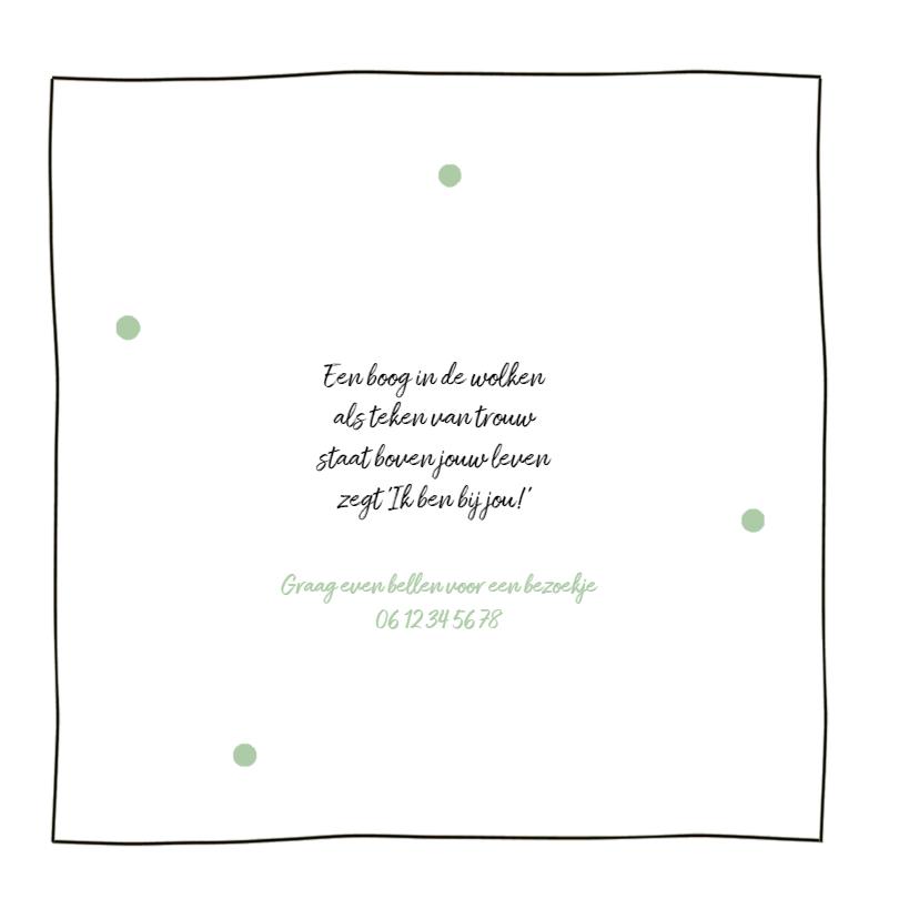 Geboortekaartje confetti Luca 2