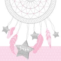 Geboortekaartjes - Geboortekaartje dromenvanger hip