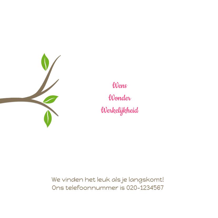 Geboortekaartje Fleur MB 2