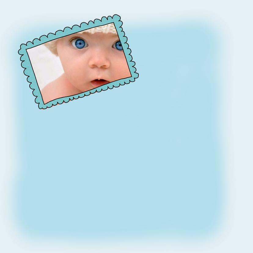 Geboortekaartje foto ooievaar 2