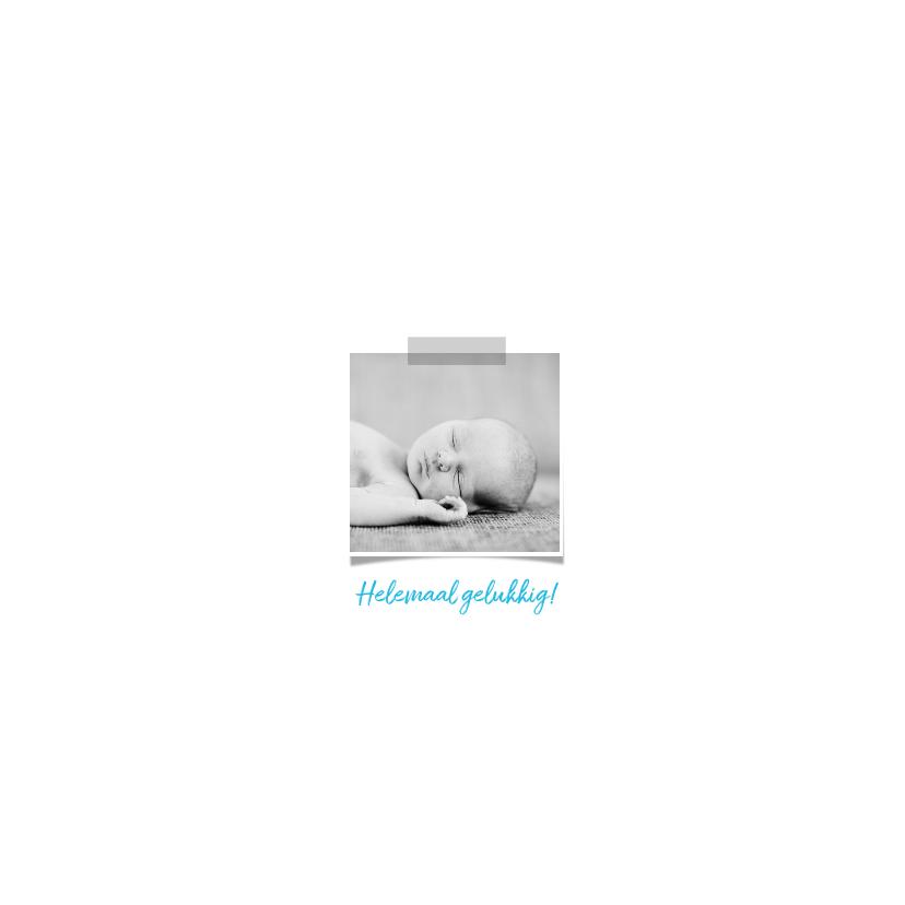 geboortekaartje foto's strikje jongen 2