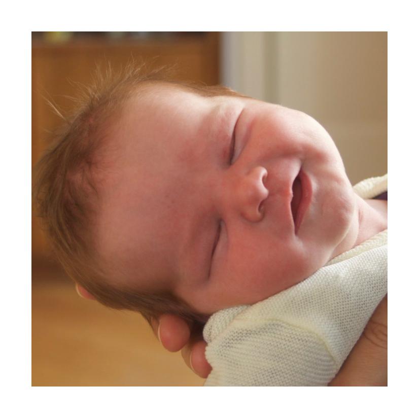 Geboortekaartje fotocollage boy 2