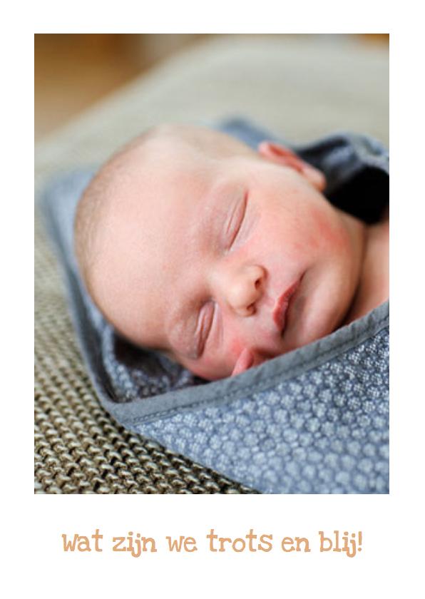 Geboortekaartje hip karton Jip 2