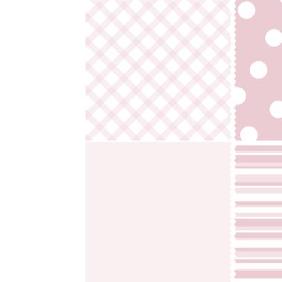 Geboortekaartje Houten hart roze 3