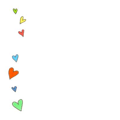 Geboortekaartje jongen hartjes 2