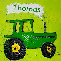 Geboortekaartjes - Geboortekaartje Jongen met tractor
