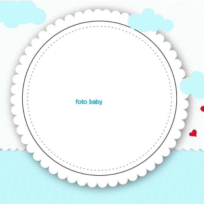 Geboortekaartje Kikker prins ME 2