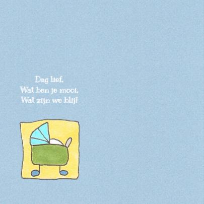 Geboortekaartje kleine plaatjes 2