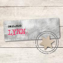 Geboortekaartjes - Geboortekaartje meisje Lynn
