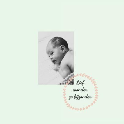 Geboortekaartje Olivia 2