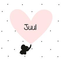 Geboortekaartjes - Geboortekaartje Olli-Fantje