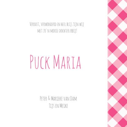 Geboortekaartje Puck LS 3