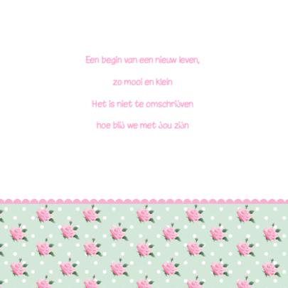 Geboortekaartje Schoentjes Meisje 2