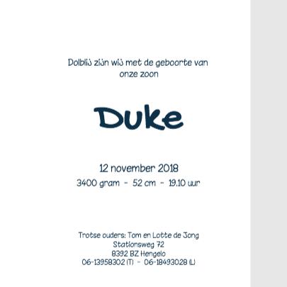 Geboortekaartje-ster-Duke-SK 3