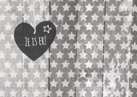 Geboortekaartje sterren Emma 2