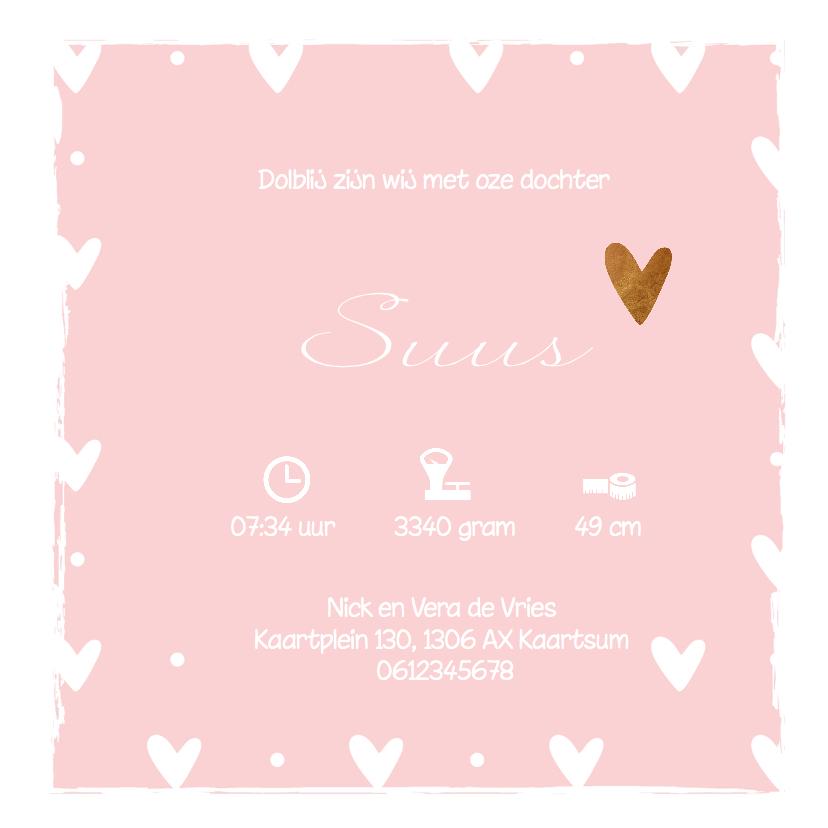 Geboortekaartje Suus - LO 3