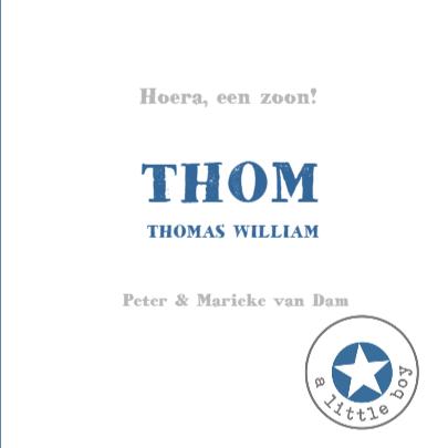 Geboortekaartje Timo sterren 3