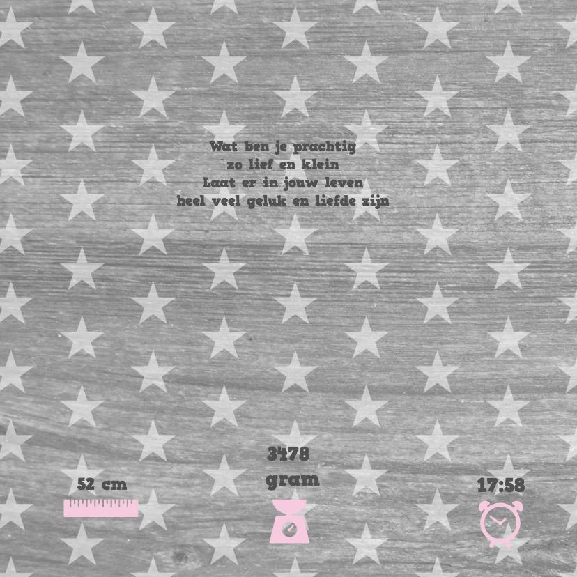 Geboortekaartje Waslijn Meisje 2