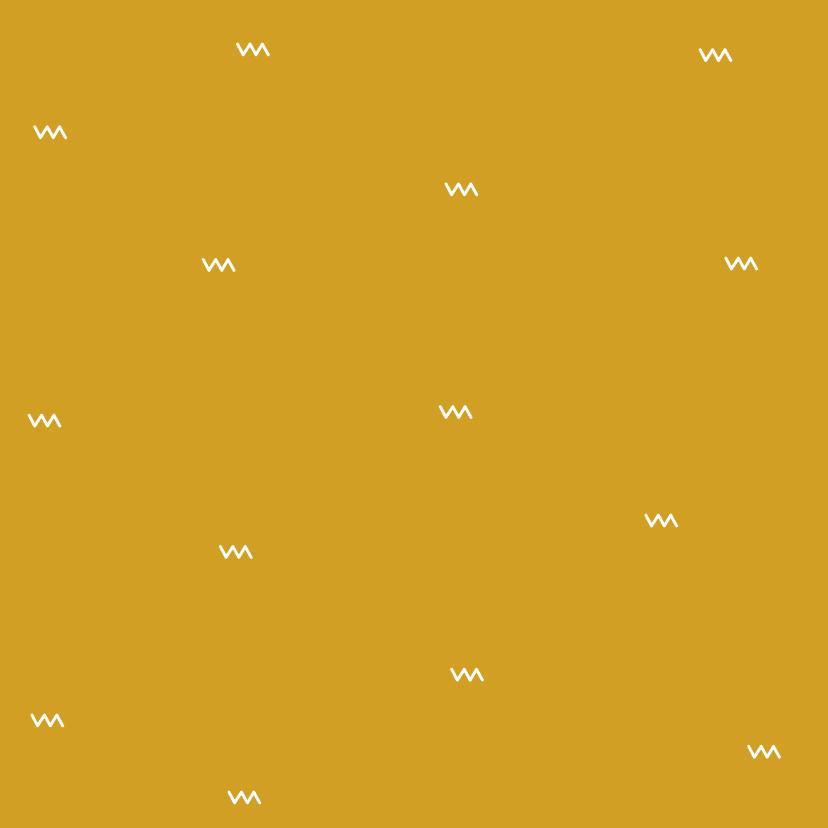 Geboortekaartje Wigwam 2, aanpasbare kleur 2