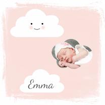 Geboortekaartjes - Geboortekaartje Wolk 2 - WW