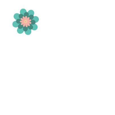 Gefeliciteerd bloemenillustratie 3