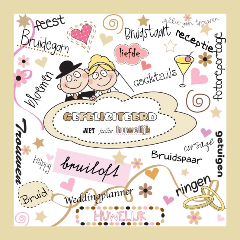 gefeliciteerd met je huwelijk tekst