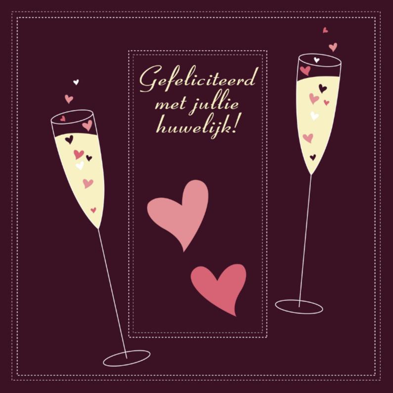 gefeliciteerd met jullie huwelijk Gefeliciteerd met jullie huwelijk C | Kaartje2go gefeliciteerd met jullie huwelijk