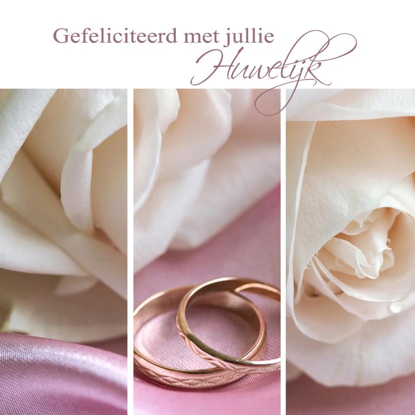 Gefeliciteerd met jullie huwelijk felicitatiekaarten