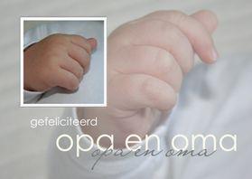 Felicitatiekaarten - Gefeliciteerd Opa en Oma
