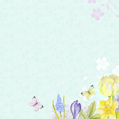Gefeliciteerd vogelhuis bloemen 3