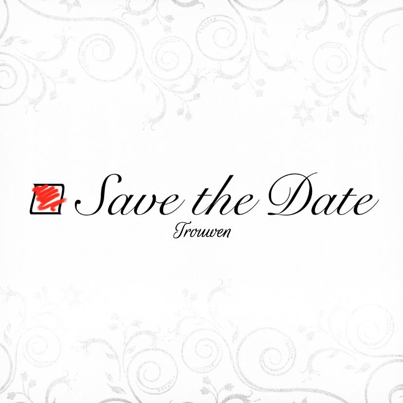 Geschikt... Save the Date - BK 2