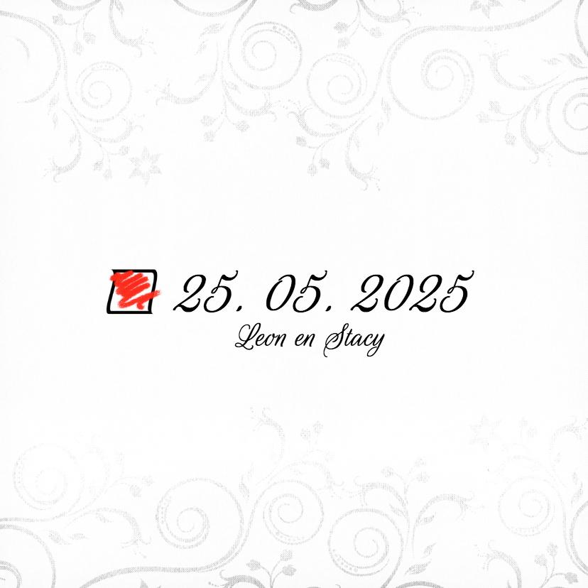 Geschikt... Save the Date - BK 3
