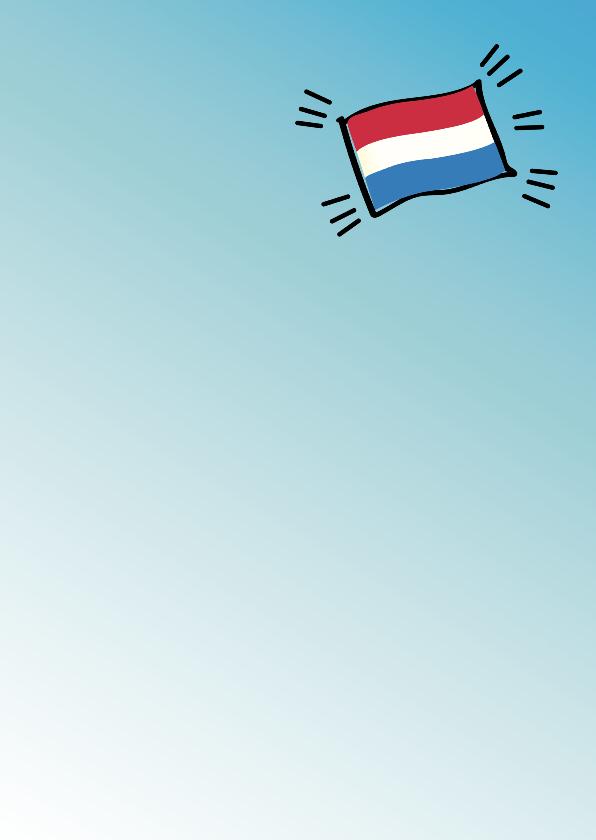 Geslaagd eigen naam en vlag 3